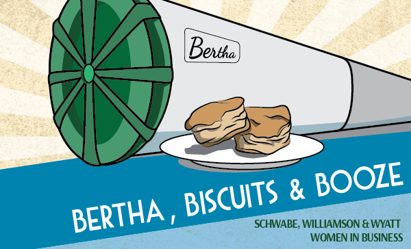 Bertha, Biscuits & Booze