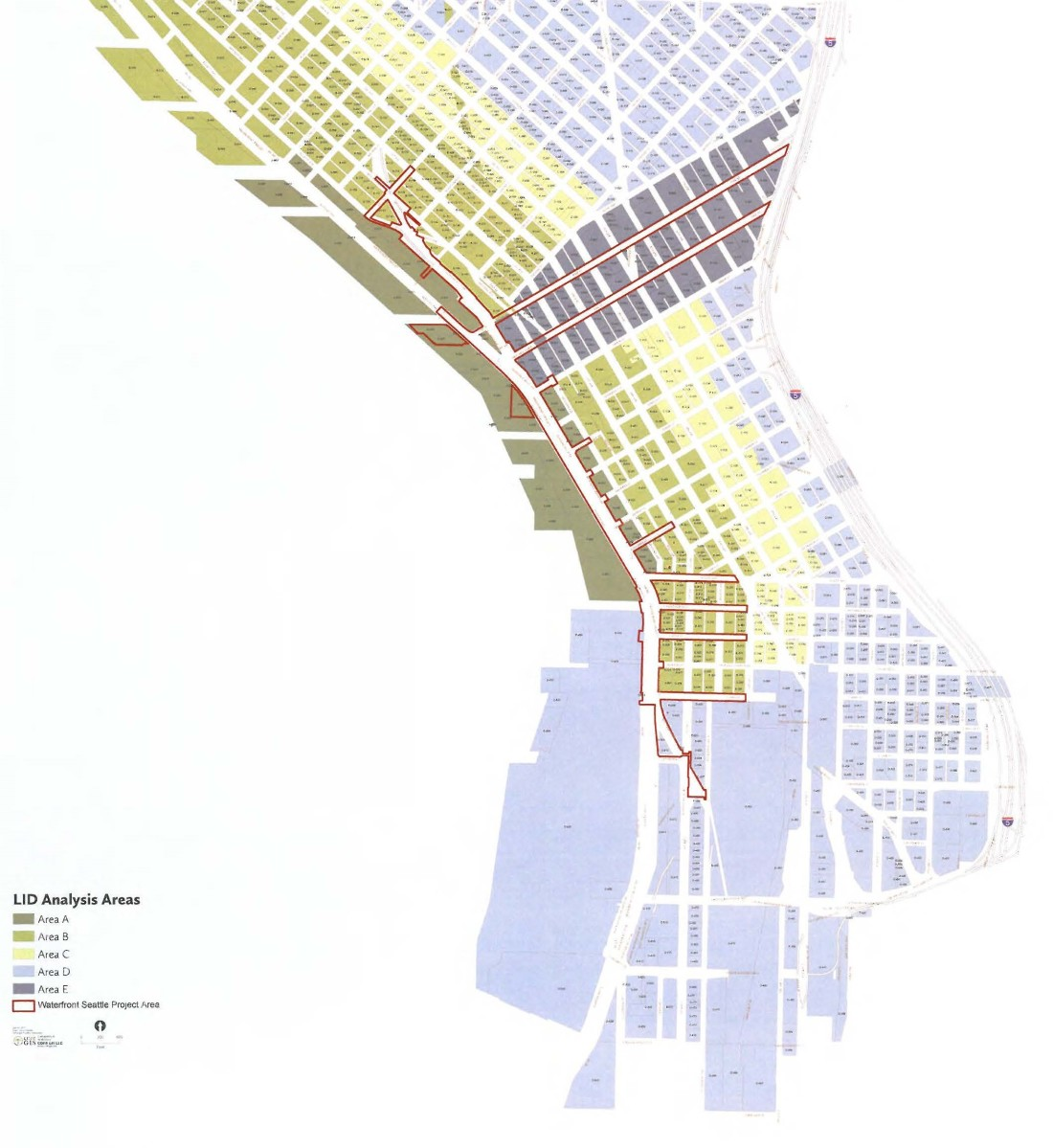 2017 Waterfront Seattle Feasibility Study Map