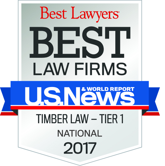 Best Law Firms Timber 2017