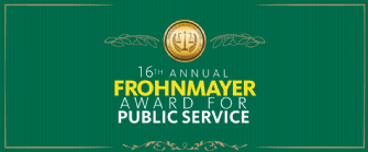 Frohnmayer Award for Public Service
