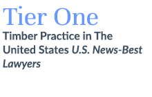 Tier One Timber Practice in the US, U.S. News-Best Lawyers