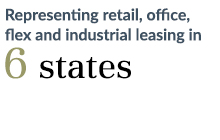 Representing retail, office, flex and industrial leasing in 6 states